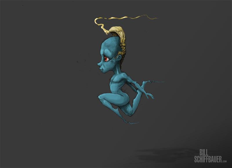 Leaping Gnome - Bill Schiffbauer