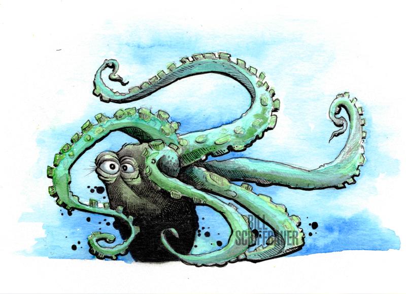 The Tumbling Octopus - Bill Schiffbauer