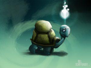 Cosmic Turtle Epiphany